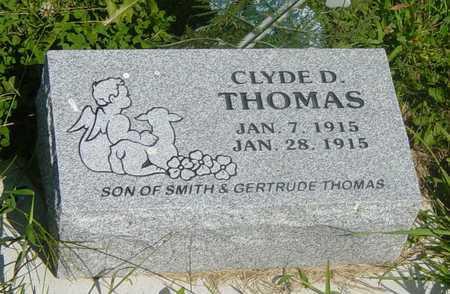 THOMAS, CLYDE D. - Wapello County, Iowa | CLYDE D. THOMAS