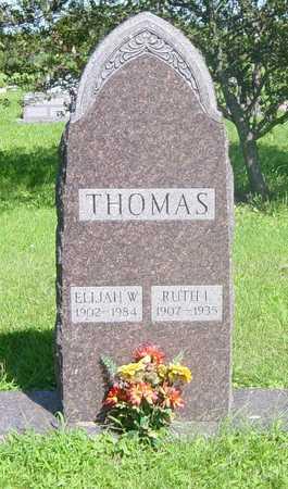 THOMAS, RUTH - Wapello County, Iowa   RUTH THOMAS