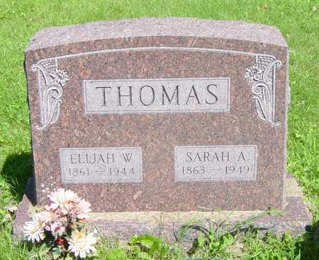 THOMAS, ELIJAH - Wapello County, Iowa   ELIJAH THOMAS