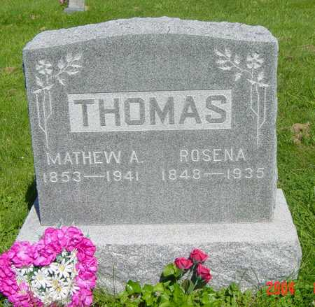 THOMAS, MATHEW - Wapello County, Iowa | MATHEW THOMAS