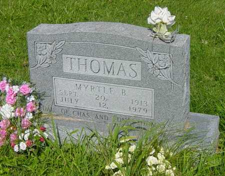 THOMAS, MYRTLE B. - Wapello County, Iowa | MYRTLE B. THOMAS