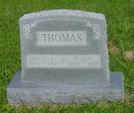 THOMAS, EVA - Wapello County, Iowa   EVA THOMAS