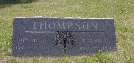 MCCAIN THOMPSON, JESSIE B. - Wapello County, Iowa | JESSIE B. MCCAIN THOMPSON