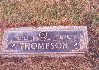 BURNS THOMPSON, MARY - Wapello County, Iowa | MARY BURNS THOMPSON