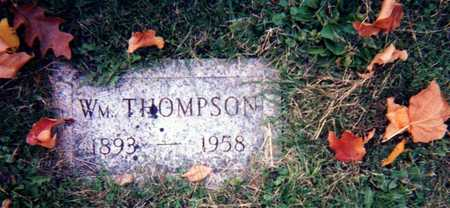 THOMPSON, WM. - Wapello County, Iowa | WM. THOMPSON