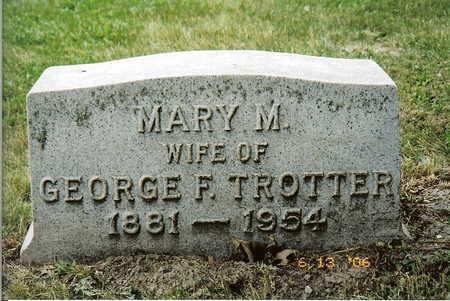 TROTTER, MARY - Wapello County, Iowa   MARY TROTTER