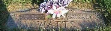 WATTS, BEULAH VIOLA - Wapello County, Iowa | BEULAH VIOLA WATTS