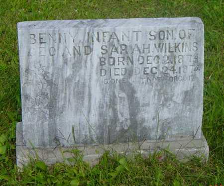 WILKINS, BENNY - Wapello County, Iowa   BENNY WILKINS