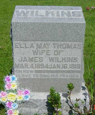 THOMAS WILKINS, ELLA MAY - Wapello County, Iowa | ELLA MAY THOMAS WILKINS