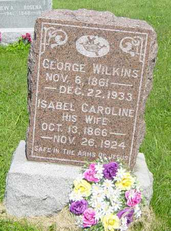 WILKINS, ISABEL CAROLINE - Wapello County, Iowa | ISABEL CAROLINE WILKINS