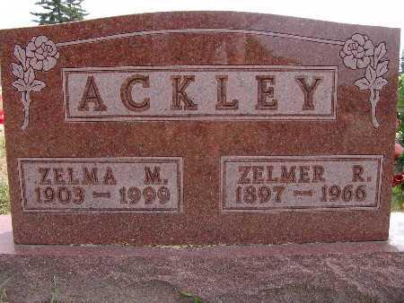 ACKLEY, ZELMER R. - Warren County, Iowa | ZELMER R. ACKLEY