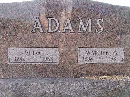 ADAMS, WARDEN G. - Warren County, Iowa | WARDEN G. ADAMS