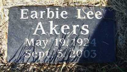 AKERS, EARBIE LEE - Warren County, Iowa | EARBIE LEE AKERS