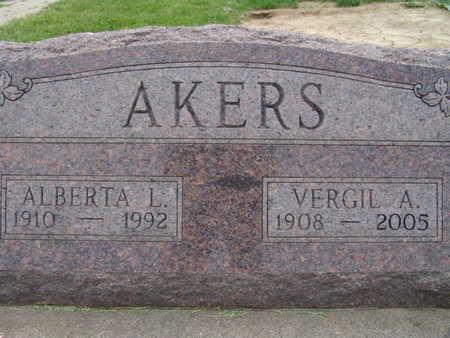 AKERS, VERGIL A. - Warren County, Iowa | VERGIL A. AKERS