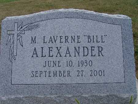 ALEXANDER, M. LAVERNE (BILL) - Warren County, Iowa | M. LAVERNE (BILL) ALEXANDER