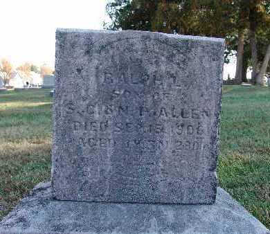 ALLEN, RALPH L. - Warren County, Iowa | RALPH L. ALLEN