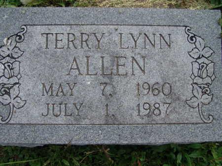 ALLEN, TERRY LYNN - Warren County, Iowa | TERRY LYNN ALLEN