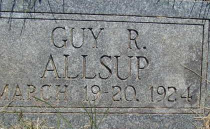 ALLSUP, GUY R - Warren County, Iowa   GUY R ALLSUP