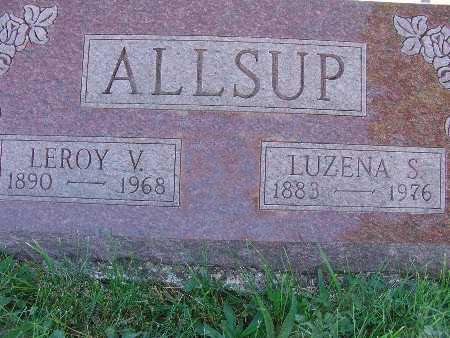 ALLSUP, LEROY V. - Warren County, Iowa | LEROY V. ALLSUP