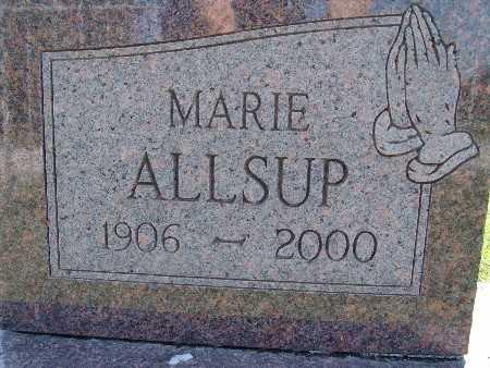 ALLSUP, MARIE - Warren County, Iowa | MARIE ALLSUP