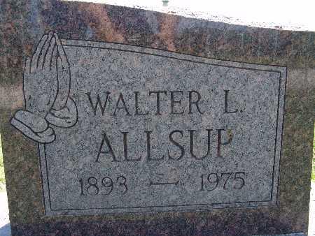 ALLSUP, WALTER L. - Warren County, Iowa | WALTER L. ALLSUP