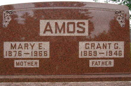 AMOS, MARY E. - Warren County, Iowa | MARY E. AMOS