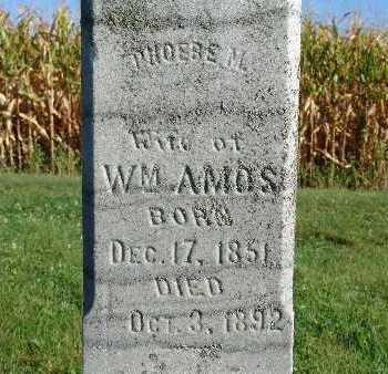 AMOS, PHOEBE M. - Warren County, Iowa   PHOEBE M. AMOS