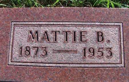 AMSBERRY, MATTIE B. - Warren County, Iowa | MATTIE B. AMSBERRY