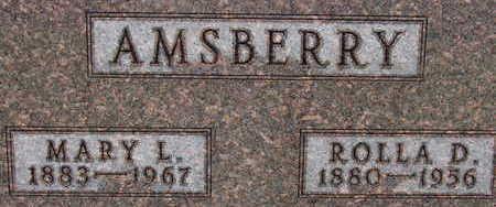 AMSBERRY, MARY L - Warren County, Iowa | MARY L AMSBERRY