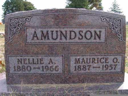 AMUNDSON, MAURICE O. - Warren County, Iowa | MAURICE O. AMUNDSON