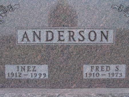 ANDERSON, FRED S. - Warren County, Iowa   FRED S. ANDERSON