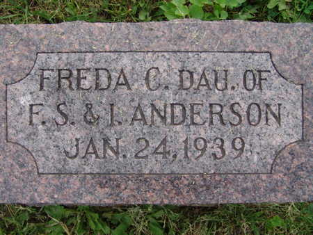 ANDERSON, FREDA C. - Warren County, Iowa | FREDA C. ANDERSON