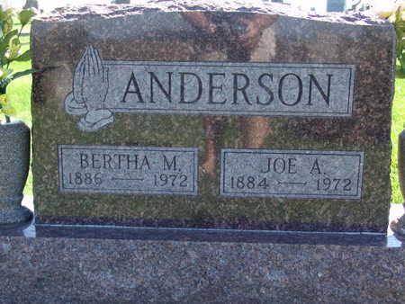 ANDERSON, JOE A - Warren County, Iowa | JOE A ANDERSON