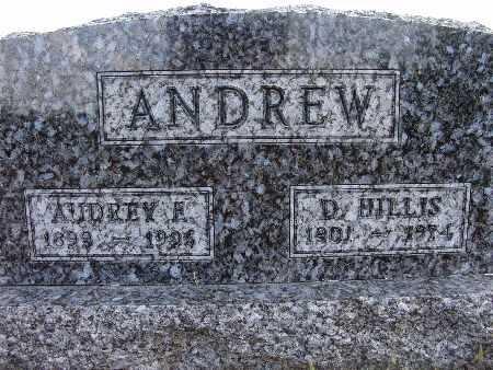 ANDREW, AUDREY E. - Warren County, Iowa   AUDREY E. ANDREW