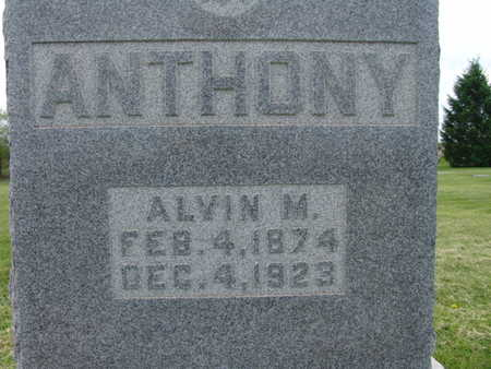 ANTHONY, ALVIN M. - Warren County, Iowa | ALVIN M. ANTHONY