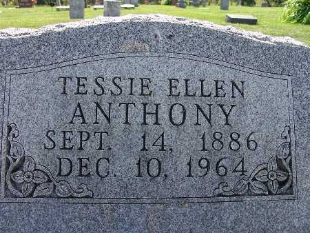 ANTHONY, TESSIE ELLEN - Warren County, Iowa   TESSIE ELLEN ANTHONY