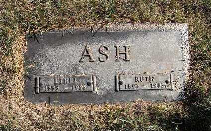 ASH, ETHEL - Warren County, Iowa | ETHEL ASH