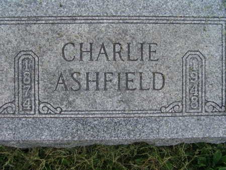 ASHFIELD, CHARLIE - Warren County, Iowa   CHARLIE ASHFIELD