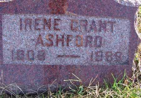 ASHFORD, IRENE GRANT - Warren County, Iowa | IRENE GRANT ASHFORD