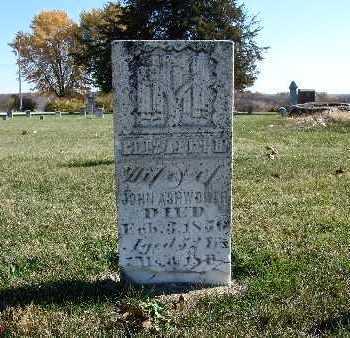 ASHWORTH, ELIZABETH - Warren County, Iowa | ELIZABETH ASHWORTH