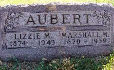 AUBERT, LIZZIE M. - Warren County, Iowa | LIZZIE M. AUBERT