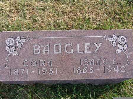 BADGLEY, CORA - Warren County, Iowa   CORA BADGLEY