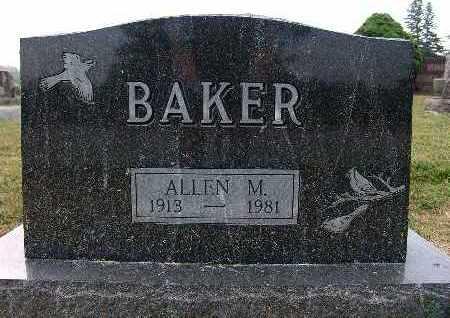 BAKER, ALLEN M. - Warren County, Iowa   ALLEN M. BAKER
