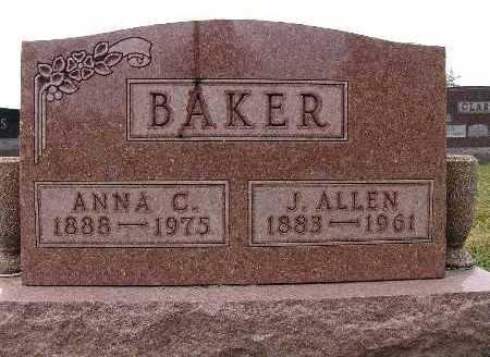 BAKER, ANNA C. - Warren County, Iowa | ANNA C. BAKER