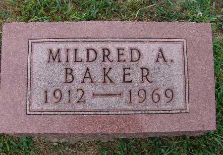 BAKER, MILDRED A. - Warren County, Iowa | MILDRED A. BAKER