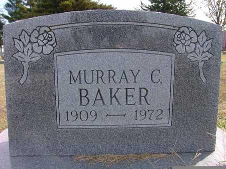 BAKER, MURRAY C. - Warren County, Iowa   MURRAY C. BAKER