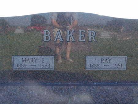 BAKER, RAY - Warren County, Iowa | RAY BAKER