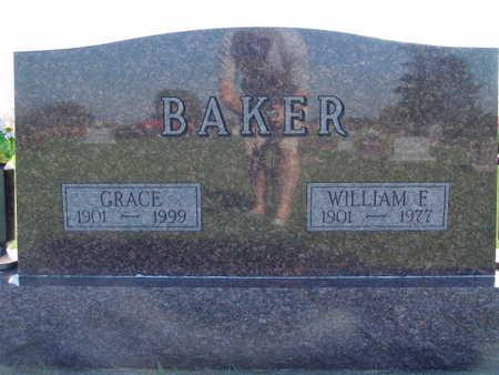 BAKER, WILLIAM F - Warren County, Iowa   WILLIAM F BAKER