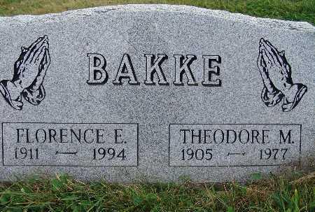 BAKKE, FLORENCE E. - Warren County, Iowa | FLORENCE E. BAKKE