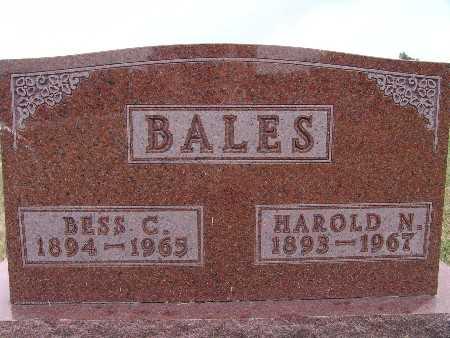BALES, HAROLD N. - Warren County, Iowa | HAROLD N. BALES